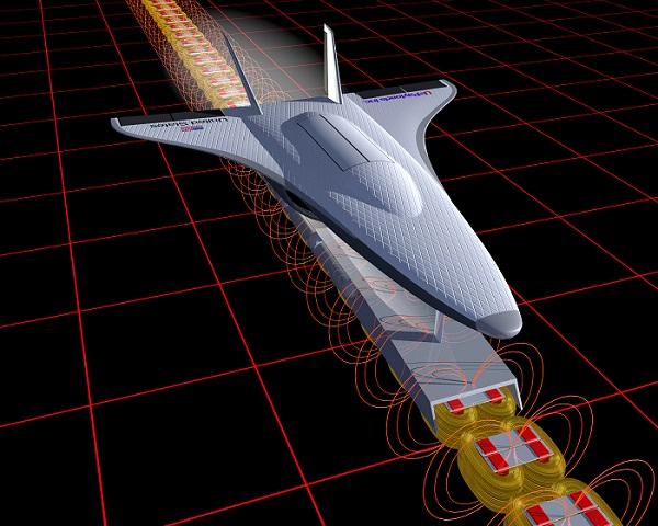 NASA nghiên cứu phóng vệ tinh bằng nam châm điện